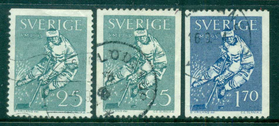 Sweden 1963 Ice Hockey World Championships FU lot83841