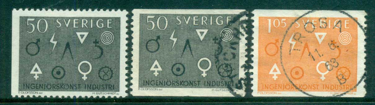 Sweden 1963 Engineering & Industry MH/FU lot83843