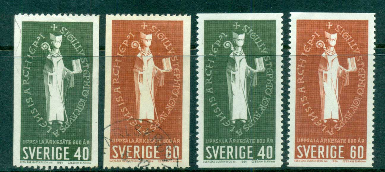 Sweden 1964 Archbishopric of Uppsala MLH/FU lot83847