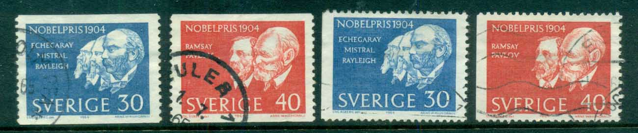 Sweden 1964 Nobel Prize Winners FU lot83848