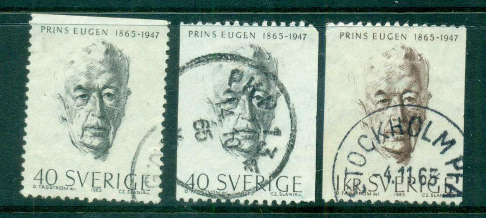 Sweden 1965 Prince Eugen, Painter FU lot83853
