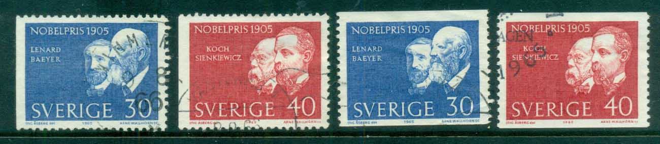 Sweden 1965 Nobel Prize Winners FU lot83854