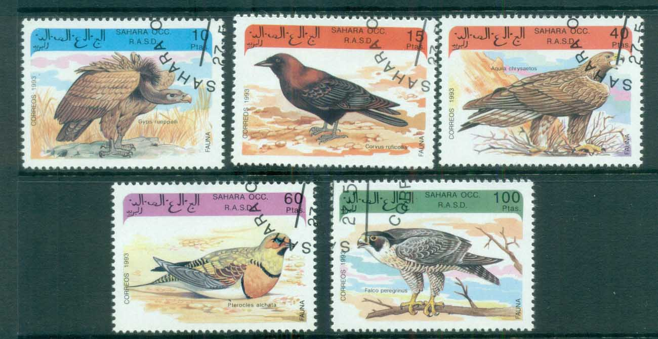 Sahara Occidental 1993 Birds CTO
