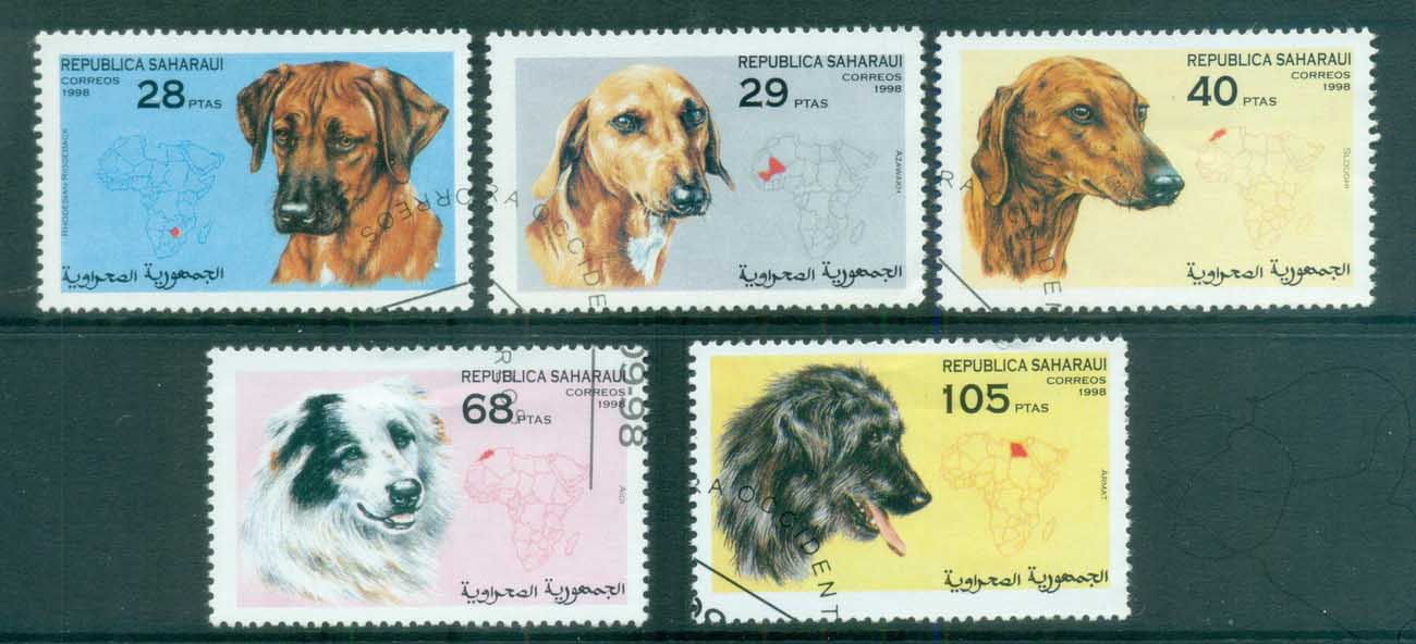 Sahara Occidental 1998 Dogs CTO
