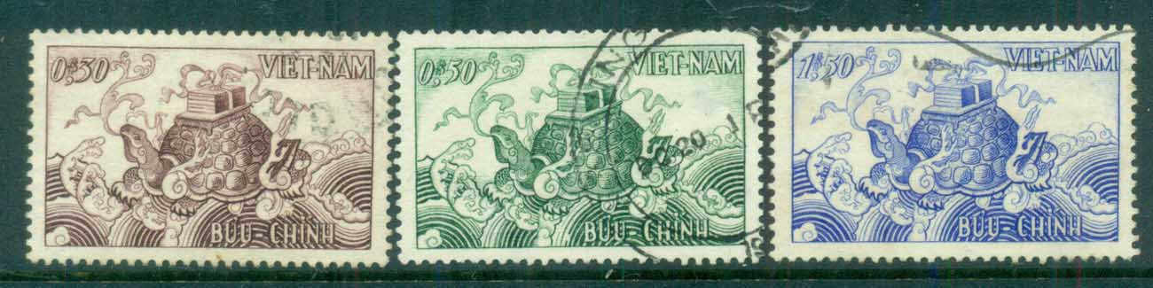 Vietnam 1955 Mythological Turtle FU