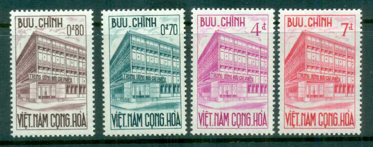 Vietnam 1962 Inauguration of Postal Checking Service MLH