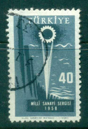 Turkey 1958 Industry FU