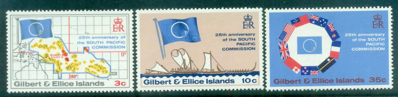 Gilbert & Ellice Is 1972 South Pacific Games MUH
