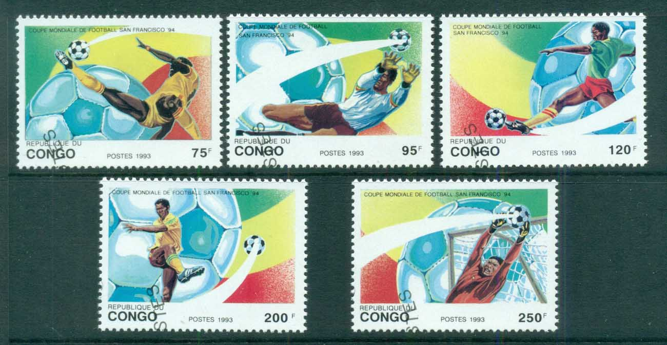Congo 1993 World Cup Soccer, San Francisco CTO