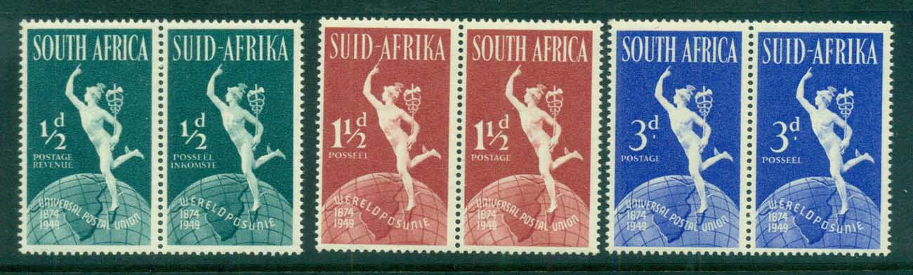 South Africa 1949 UPU 75th Annuv .pr MUH