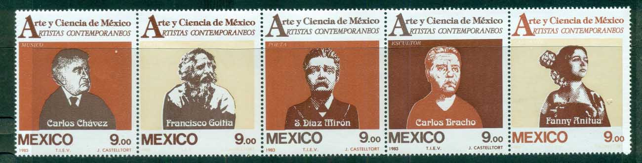 Mexico 1983 Artists Str5 MUH