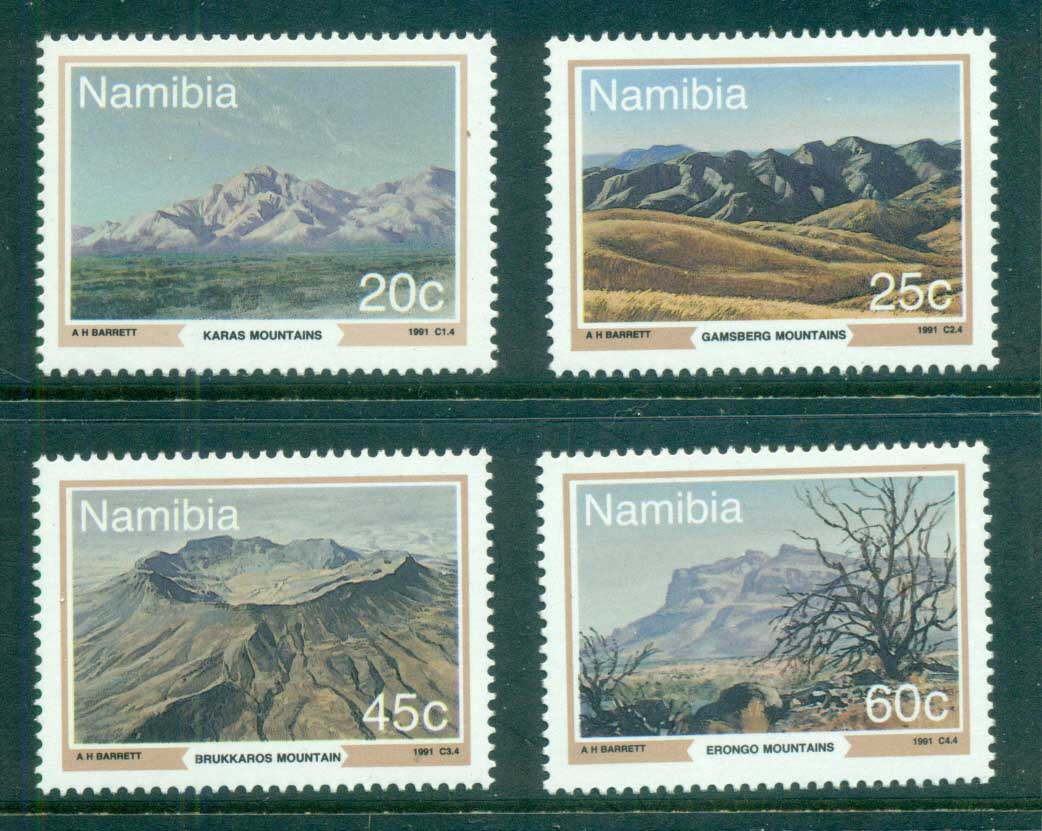 Namibia 1991 Mountains MUH