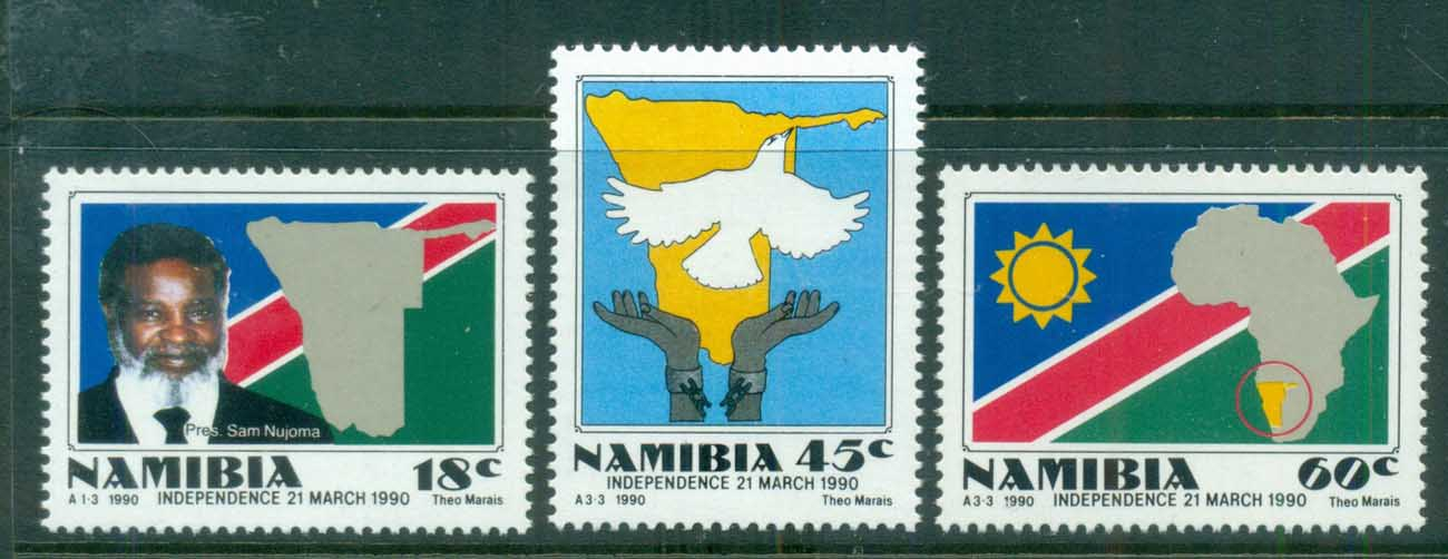 Namibia 1990 Independence MUH