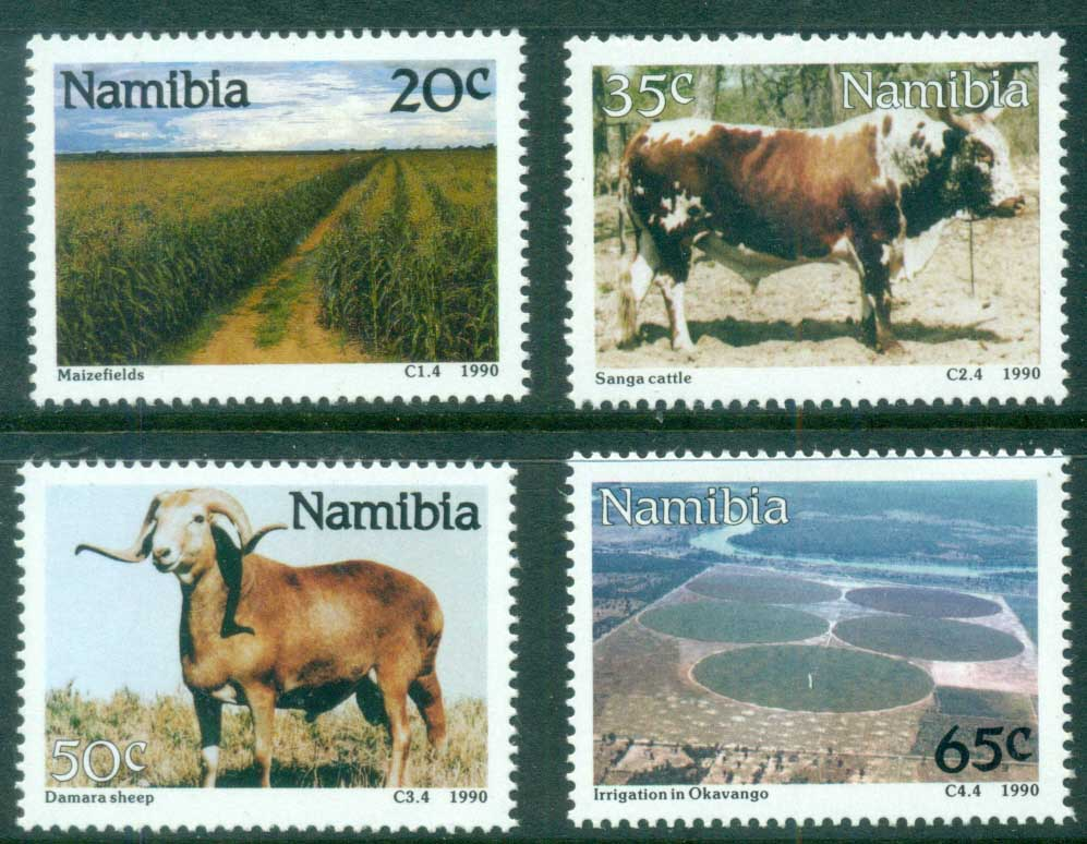 Namibia 1990 Farming & Ranching MUH
