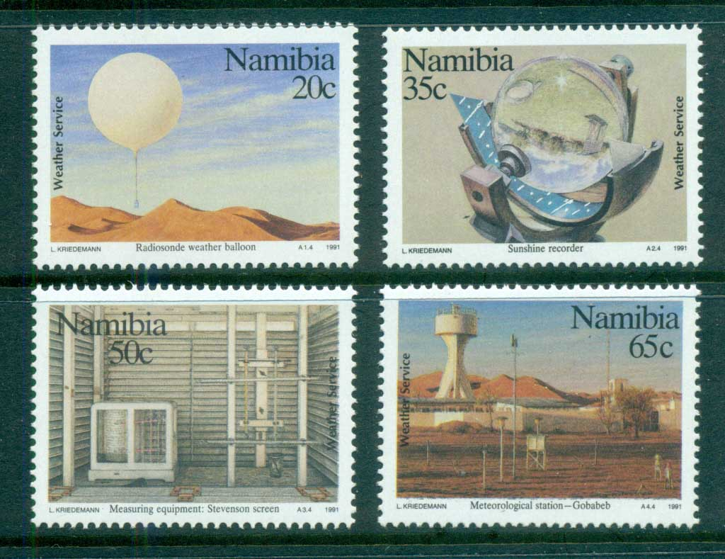 Namibia 1991 Weather Service Cent. MUH