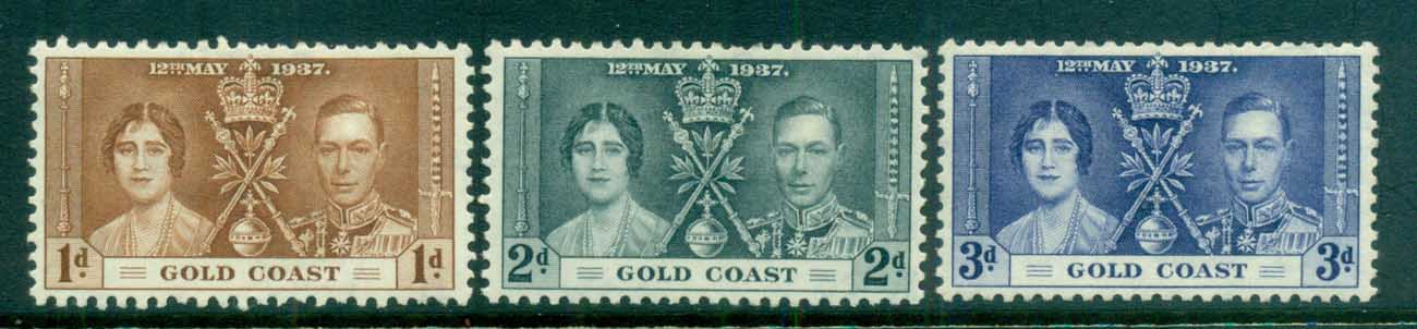 Gold Coast 1937 Coronation MLH