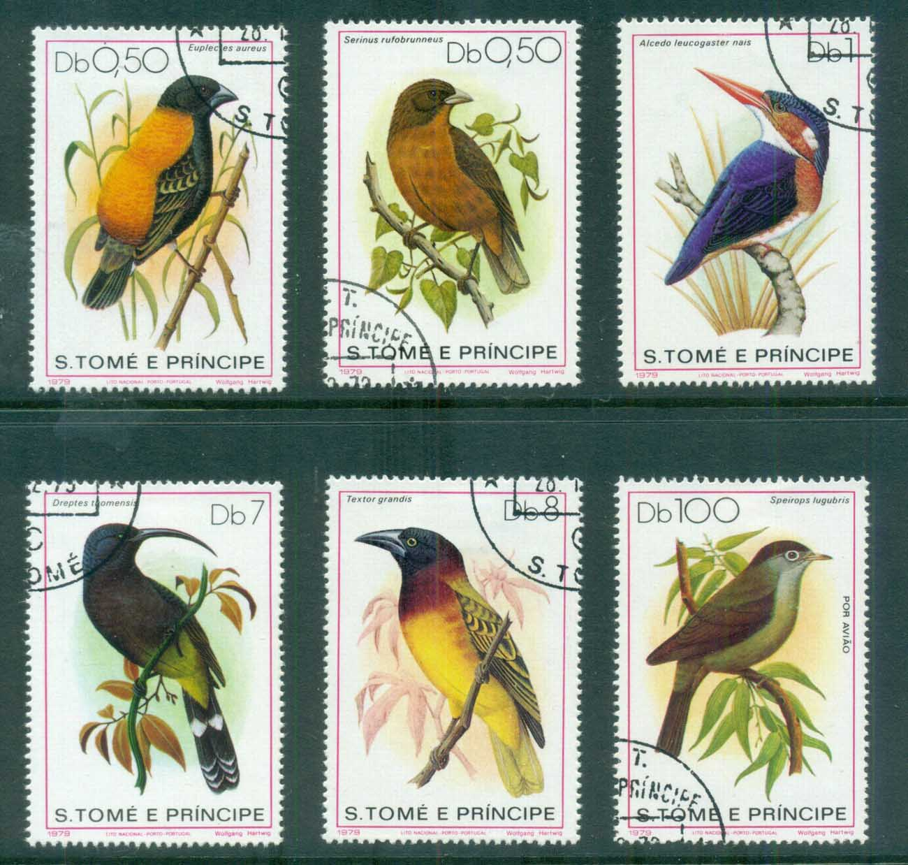 Sao Tome et Principe 1979 Nature Protection, Birds CTO