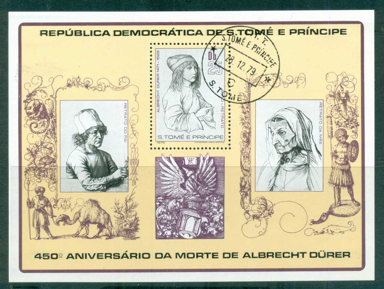 Sao Tome et Principe 1979 Paintings, Durer MS CTO