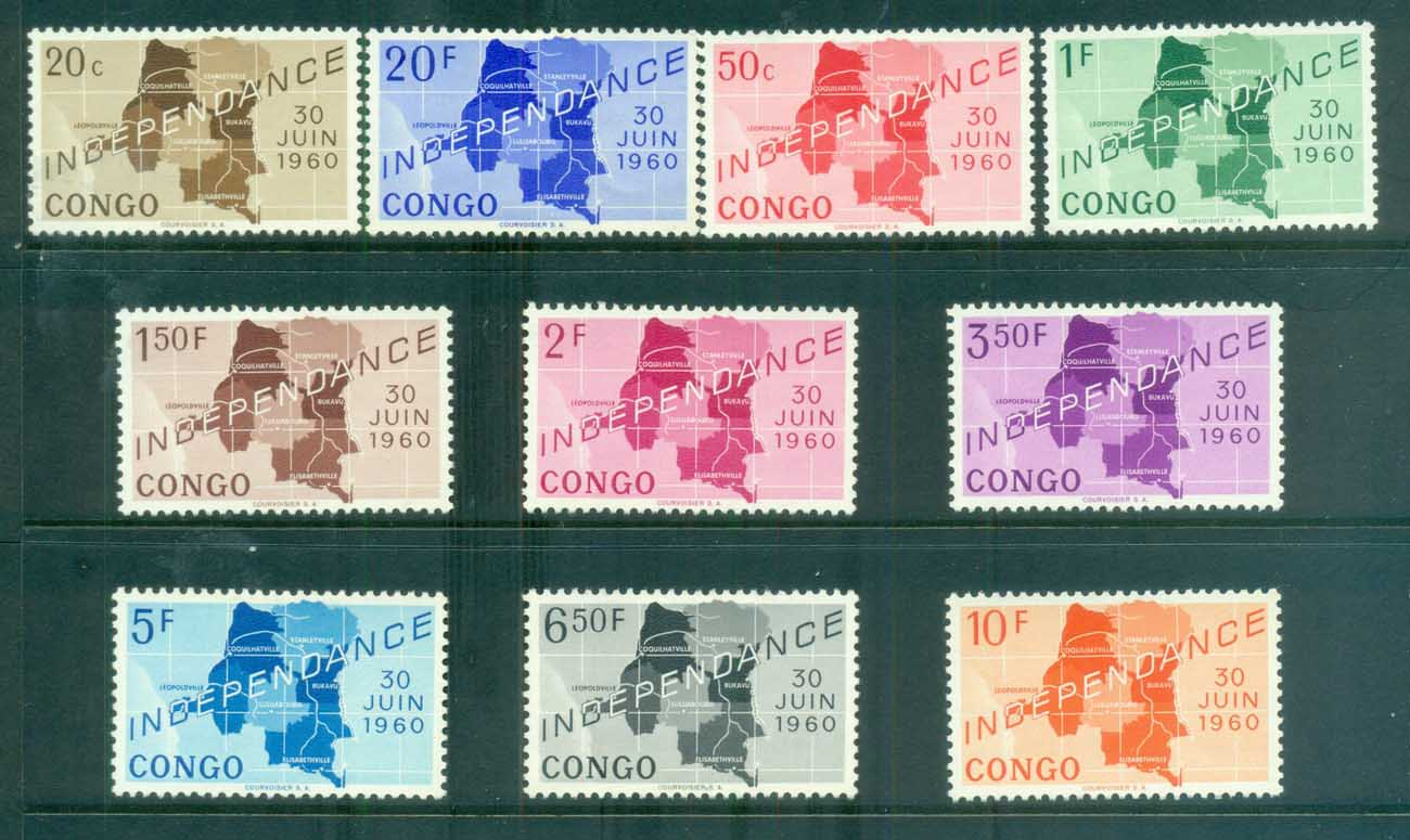 Congo DR 1961 Independence MUH