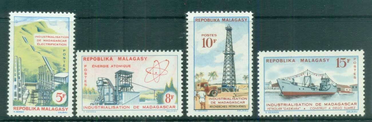 Madagascar 1962 Industrialistaion of Madagascar MLH