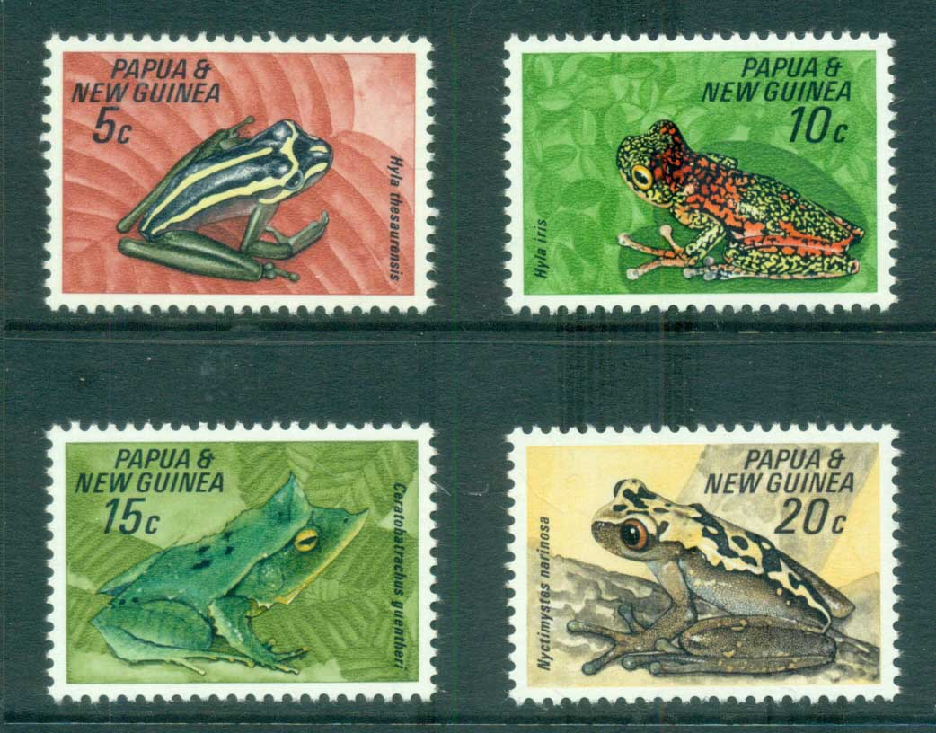 PNG 1968 Frogs MUH