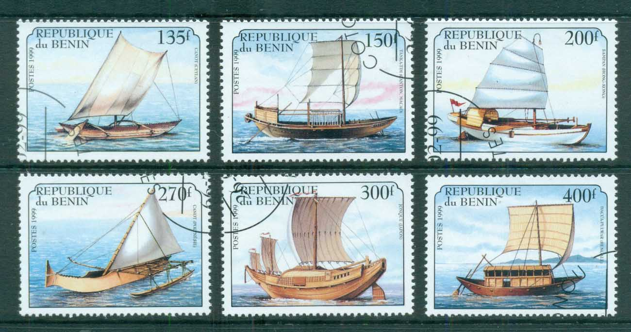 Benin 1999 Ancient Sailing Ships CTO
