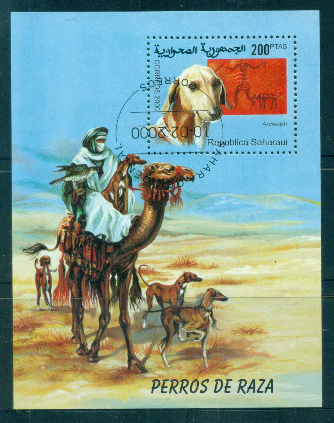 Sahara Occidental 2000 Dogs MS CTO