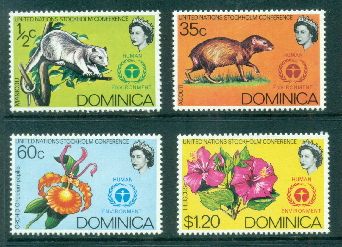Dominica 1972 UN Conference on Human Environment MLH