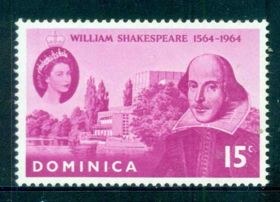 Dominica 1964 Shakespeare MUH