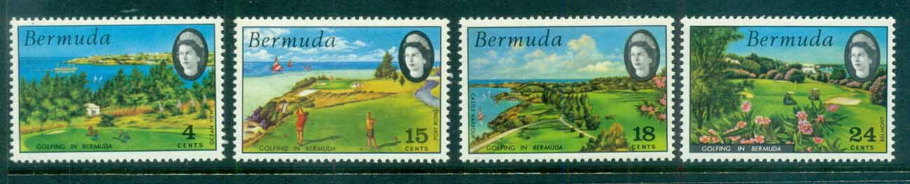 Bermuda 1971 Golf Courses MUH