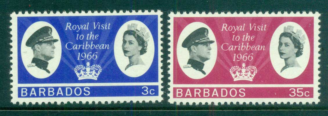 Barbados 1966 Royal Visit MLH