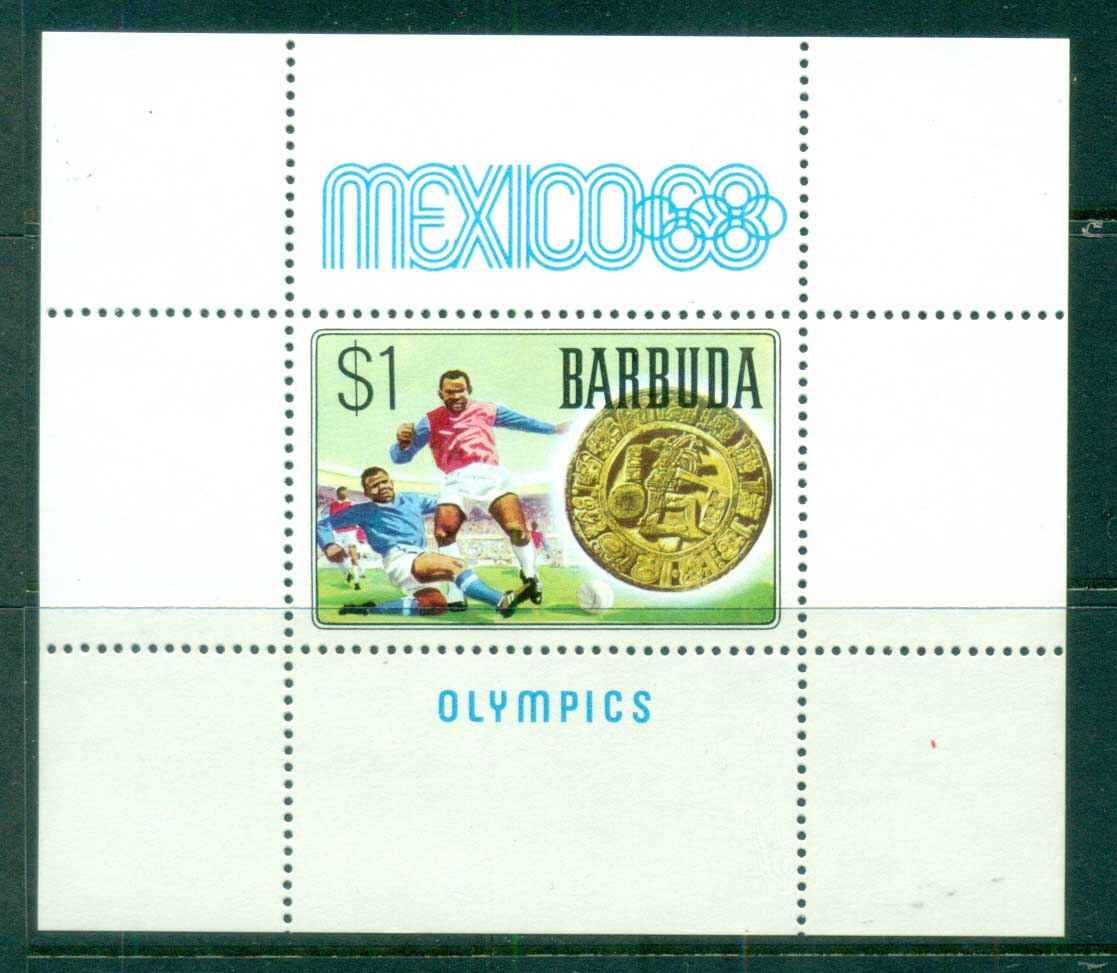 Barbuda 1968 Summer Olympics, Mexico MS MUH