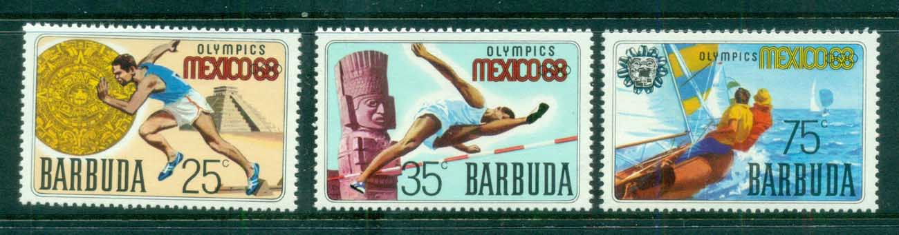Barbuda 1968 Summer Olympics, Mexico MUH