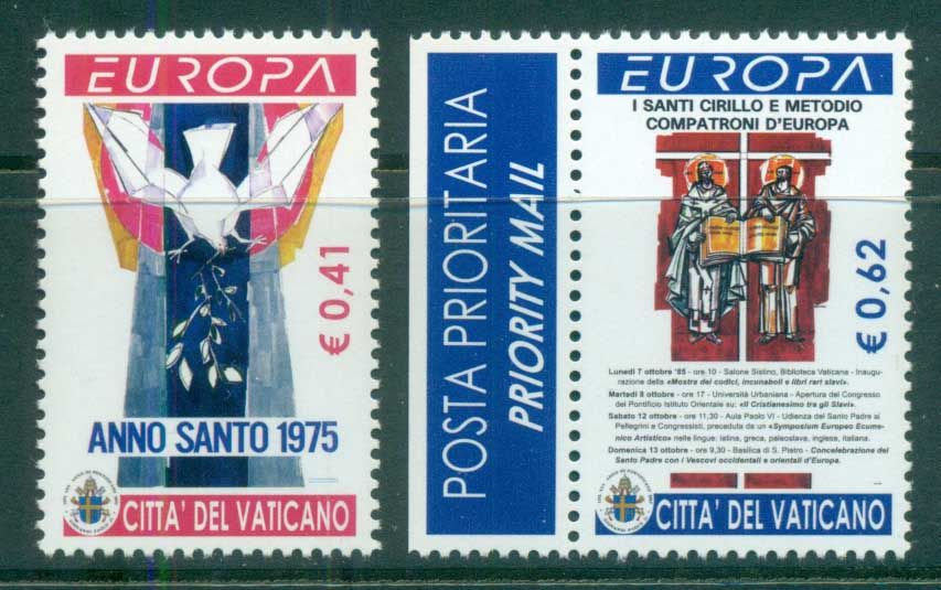 Vatican 2003 Europa, Poster Art MUH - Click Image to Close