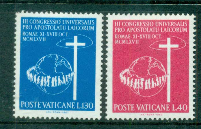 Vatican 1967 Catholic Laymen Congress MUH