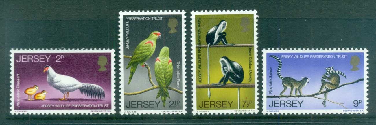 Jersey 1971 Jersey Wildlife Preservation Trust MUH - Click Image to Close