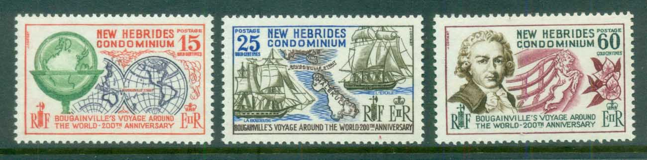 New Hebrides (Br) 1968 Bougainville MUH