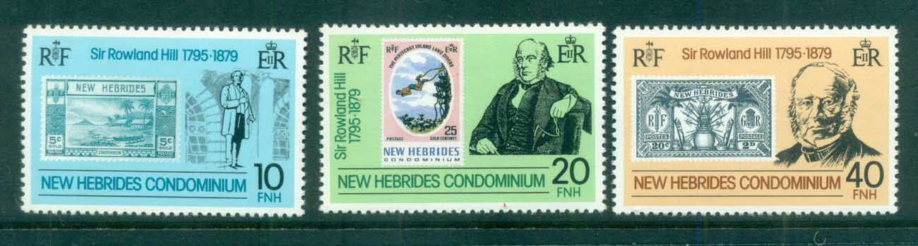 New Hebrides (Br) 1979 Sir Rowland Hill MUH