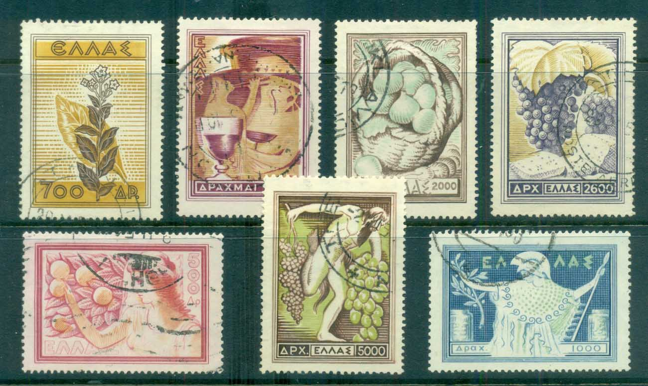 Greece 1953 National Products FU