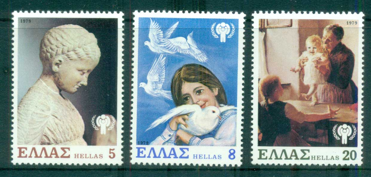 Greece 1979 IYC Intl. year of the Child MUH