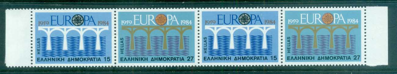 Greece 1984 Europa booklet pane MUH
