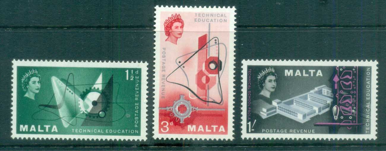 Malta 1957 Technical Education MLH