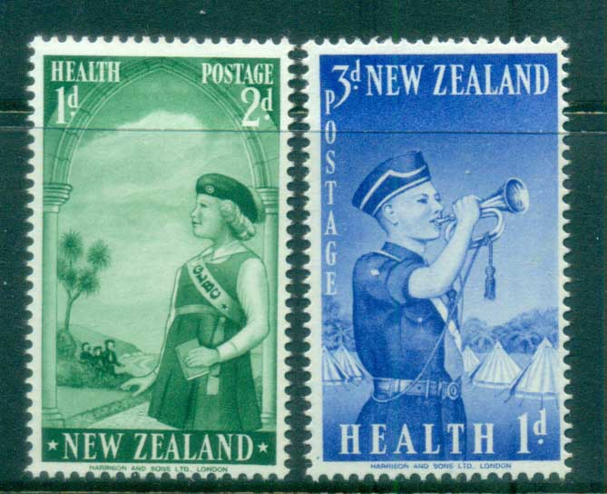 New Zealand 1958 Health, Girl's Life Brigade MLH