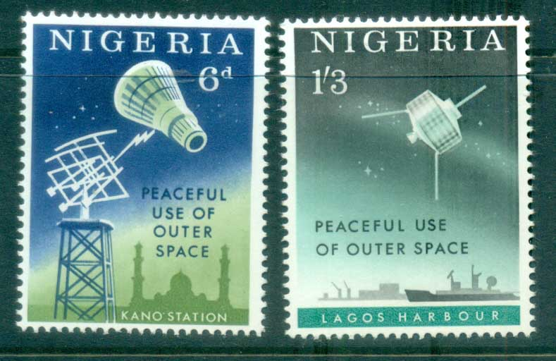 Nigeria 1963 Peaceful Use of Outer Space MLH
