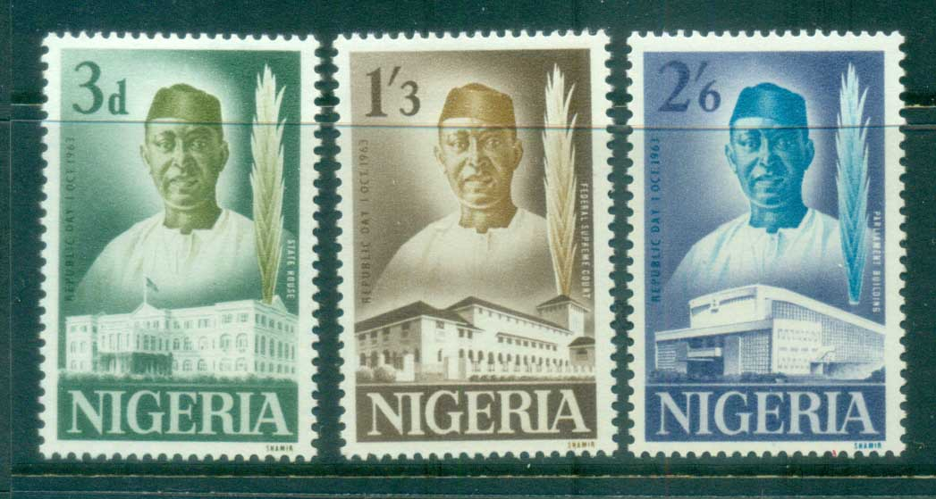 Nigeria 1963 Independence MLH