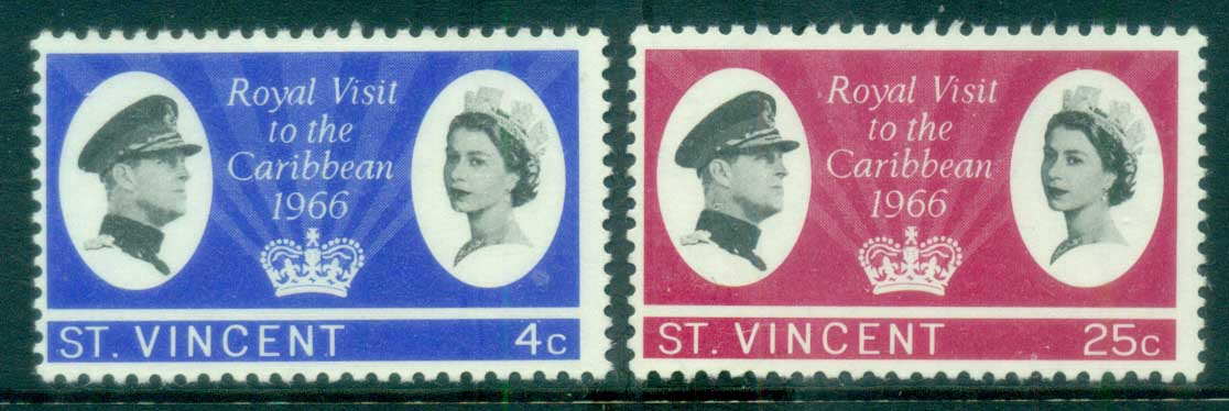 St Vincent 1966 Royal Visit MLH