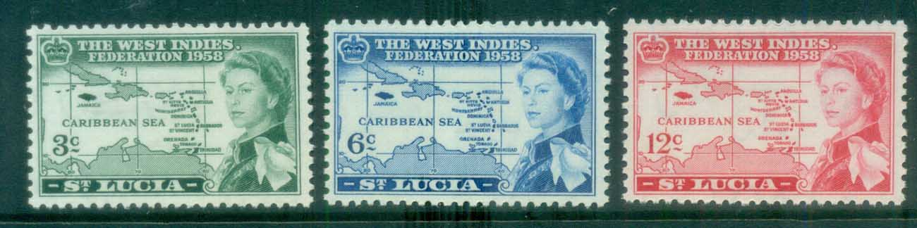St Lucia 1958 Federation of West Indies MLH