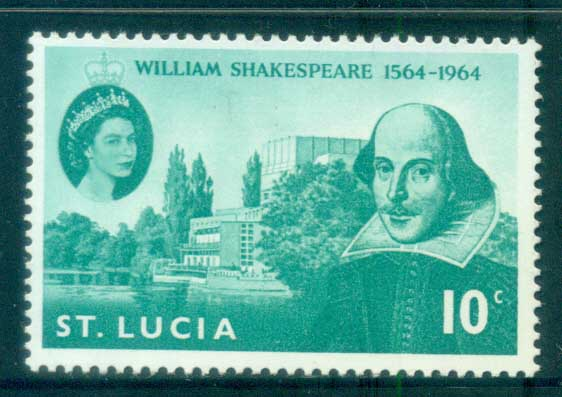 St Lucia 1964 Shakespeare MLH