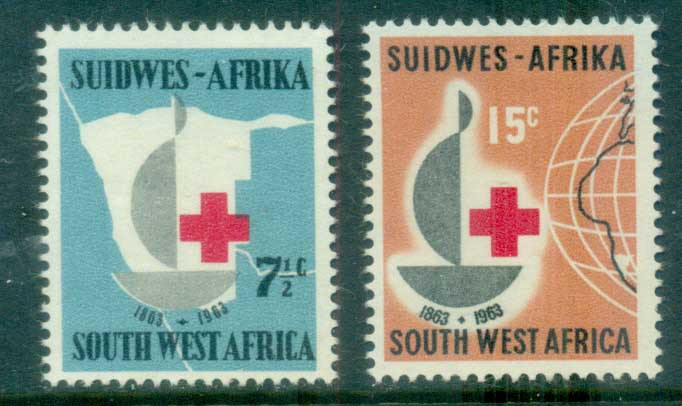 South Africa 1963 Red Cross Cent. MLH