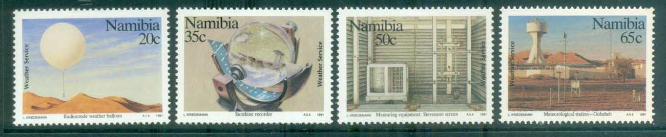 Namibia 1991 Weather Service MLH